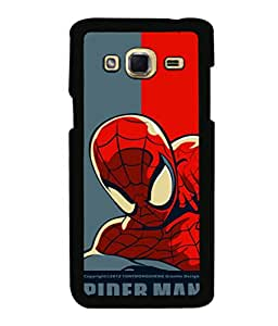 printtech Superhero Avengers Back Case Cover for Samsung Galaxy J3 Pro