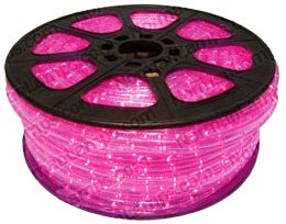 Cbconcept 120Vlr-150Ft-P Pink 150-Feet 120-Volt 2-Wire 1/2-Inch Led Rope Light, Christmas Lighting, Indoor/Outdoor Rope Lighting front-737842