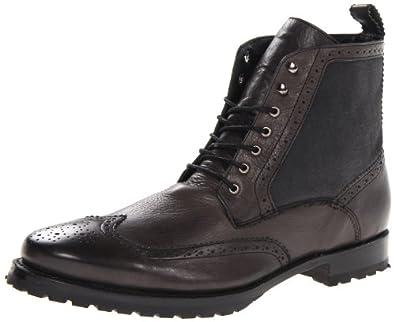 JD Fisk Men's Leeds Lace-Up Boot,Black,10 M US