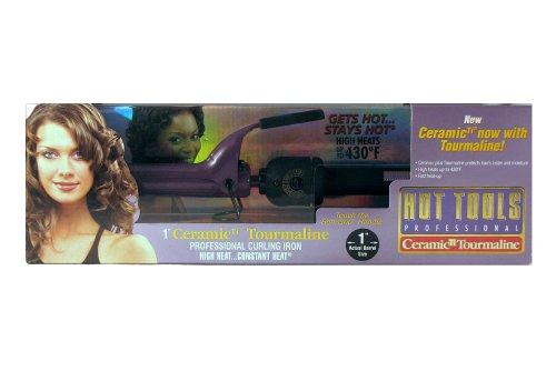 Hot Tools Professional 2181 Ceramic Titanium Professional Curling Iron, 1\