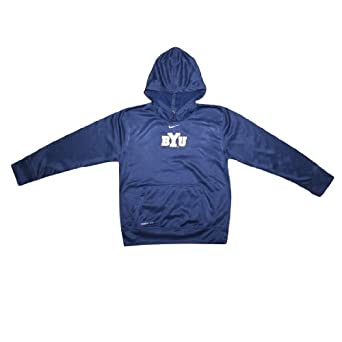 NCAA Brigham Young Cougars Youth Therma-Fit Hoodie with Embroidered Logo by NCAA