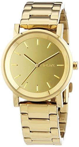 DKNY SUMMER 14 ny2178 Gold Tone Steel Bracelet & Case Acrylic Women's Watch