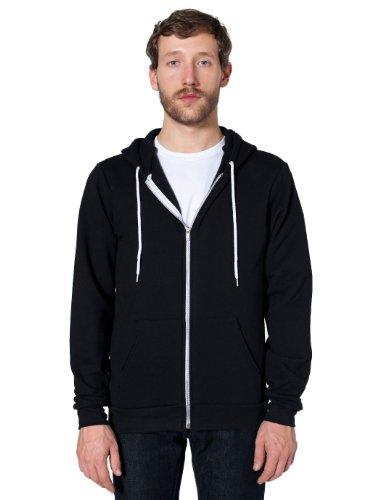 american-apparel-unisex-flex-fleece-zip-hoodie-black-m