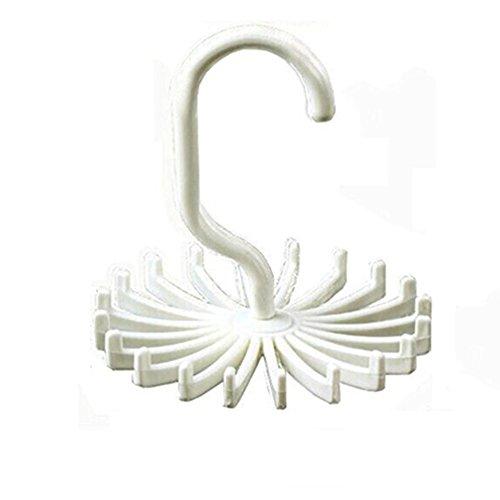 Rotatif à 360tourner Crochet Support de cintre de ceinture de serrage réglable 20cou Liens