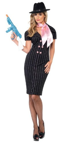 Smiffy's Women's Gangsters Moll Costume