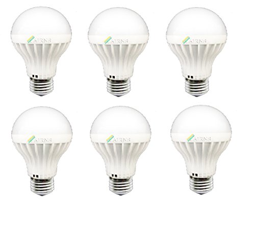 5W White E27 LED Bulb (Set of 6)