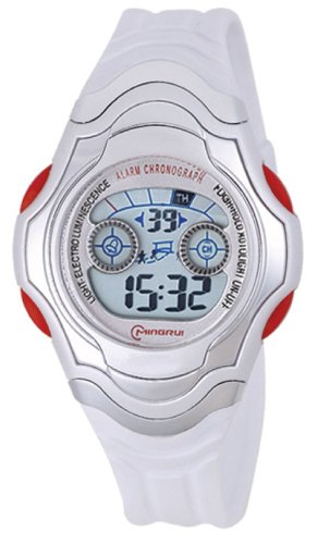 30M Water-Proof Digital Boys Girls Sport Watch With Alarm Stopwatch Chronograph Mr-8518B-1