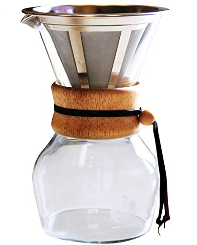 Best Personal Pour Over Slow Drip Coffee Maker Non