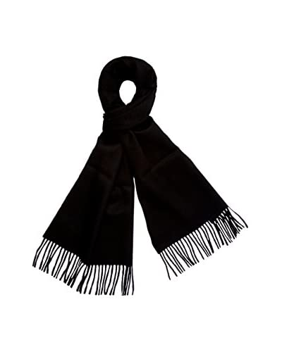 a & R Cashmere Women's Baby Alpaca Solid Scarf, Black