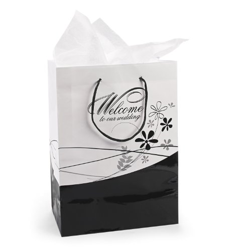 Medium Welcome To Our Wedding Gift Bags (1 dz)