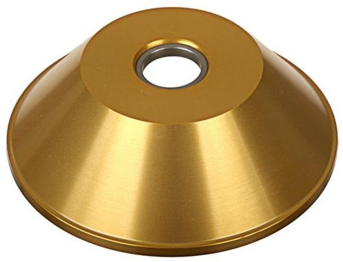 FBM HubGuard BMX Bike Hub - 14mm - Gold
