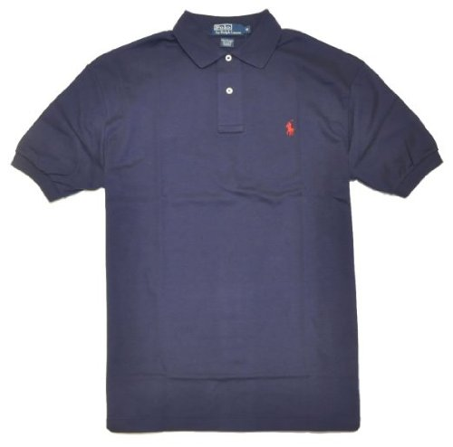 Polo-Ralph-Lauren-Men-Classic-Fit-Pony-Logo-T-shirt-XL-Navy