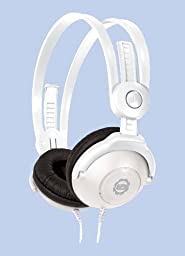 Kidz Gear Wired Headphones For Kids - Ltd. Edition White