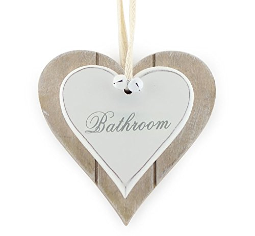shabby-chic-rustic-double-white-heart-bathroom-hanging-sign-plaque-12x12cm-by-lesser-pavey