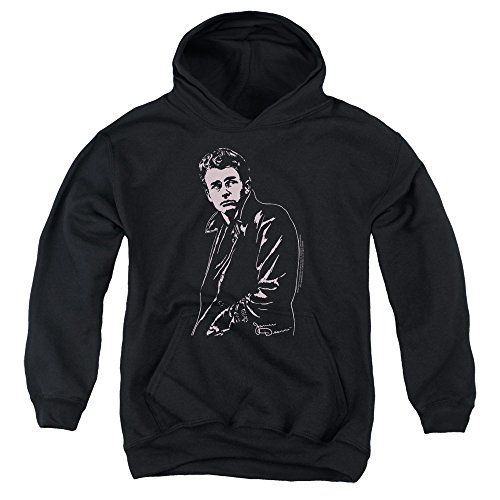 James Dean Coat Big Boys Pullover Hoodie Black XL (James Dean Coat compare prices)