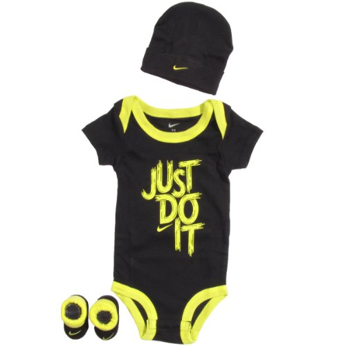 Nike Jordan Jumpman 23 Baby Infant 0-6 Months 3-pc Set Lap/shoulder Bodysuit Hat/cap Booties