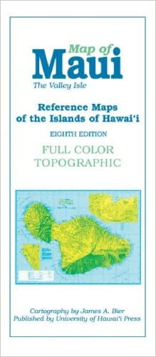 Reference Maps of the Islands of Hawaii: Map of Maui : The Valley Isle