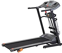 Afton M3-4 in 1 Motorized Treadmill with Massager (Black)