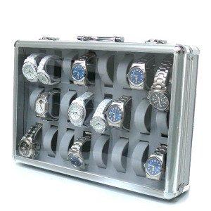 ジュラルミン 時計収納ケース 24本収納