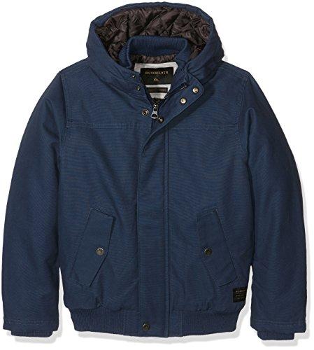 Quiksilver-Maglietta per ragazzi impermeabili per giacche, taglia L, colore blu, Misura: 14