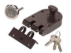 Klaxon Exclusive Brass Godrej type Vertibolt Lock - Door Lock(Brown Color)