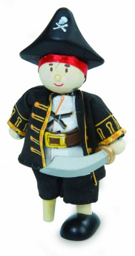 Budkins Cap'n The Pirate Figure