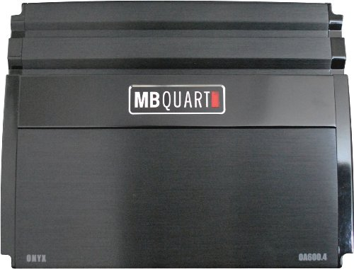 Mb Quart Oa600.4 600-Watt 4-Channel Onyx Series Car Audio Amplifier