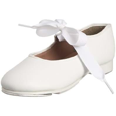 Capezio  PU JR Tyette tap, Chaussures danse filles - Blanc-V.4, 29 EU (10.5 Child UK)