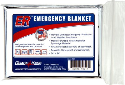 Emergency Blankets Thermal Four Pack