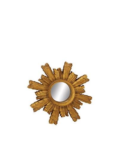Sun Wall Mirror, Gold