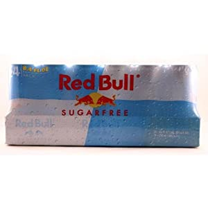 Red Bull Sugarfree, 8.4 Oz