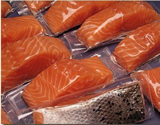 6 X 6 Oz. Fresh Atlantic Salmon Portions, Individually Vacuum Packed, Ready to Cook.