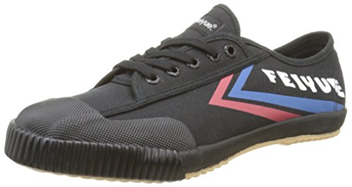 FeiyueFe Lo Classic - Sneakers da Uomo, colore Nero (Noir (Black/Blue/Red/Gum)), taglia 43