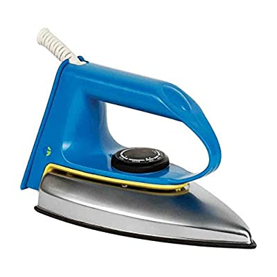 Crompton  CG-WD 600-Watt Dry Iron (Blue/Yellow)