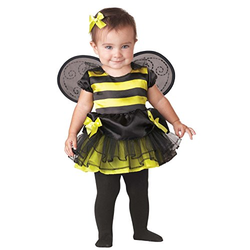 Honey Queen Infant Costume - Infant (6-12 Months) (Infant Bumble Bee Costume)