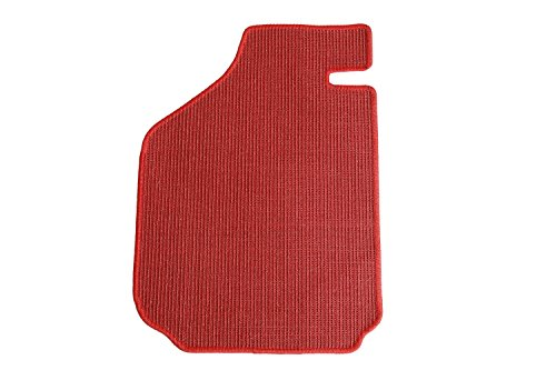 Intermats 412551 Mercedes  SL Pagode W113 Autofußmatten Sisal rot mit Si-Beschichtung, Velourband