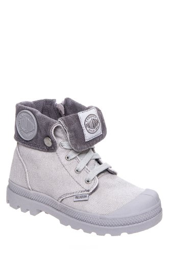Kids' Baggy Zipper Combat Boot