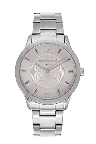 Cacharel CLD FM - 026/Women's Watch Analogue Quartz Silver Dial Silver Steel Strap