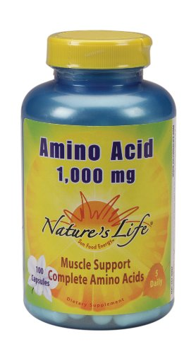 Nature's Life - Amino Acid, 1000 mg, 100 capsules