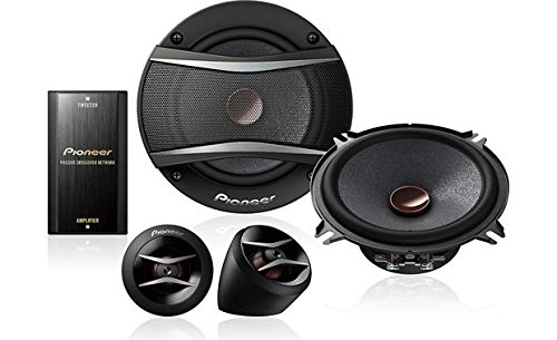 Pioneer TS-A1306C 5-1/4 Component Speaker Package (Color: BLACK)
