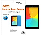 LG G Pad 7.0 Screen Protector - JOTO Anti Glare, Anti Fingerprint (Matte Finish) version Screen Protector Film Guard for 2014 LG G Pad 7 inch Tablet (V400), with Lifetime Replacement Warranty (3 Pack)