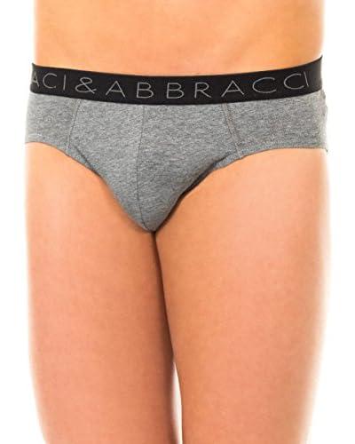 Baci & Abbracci Pack x 2 Slips Gris