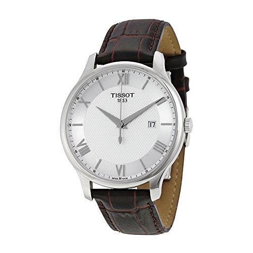 tissot-mens-t0636101603800-tradition-analog-display-swiss-quartz-brown-watch