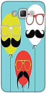 Snoogg Movember Balloon Designer Protective Back Case Cover For Samsung Galax...