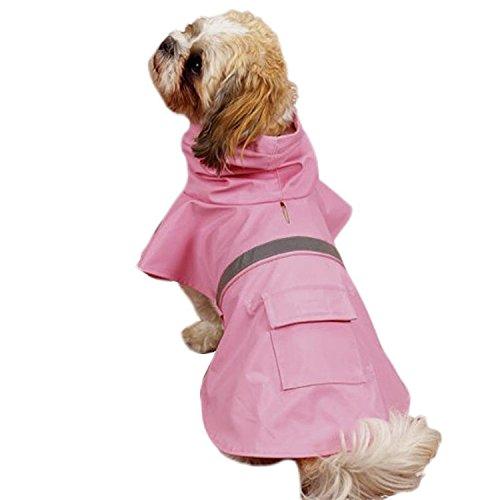 Sneff Trade Hundemantel Regenmantel Hund Hundebekleidung Hundejacke Wintermantel Regenjacke