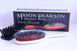 Mason Pearson Junior Bristle\/nylon hairbrush, Ivory: Amazon.co.uk ...