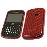 Cut Price Accessories Samsung Gel case for Model S3350 Chat (Red)