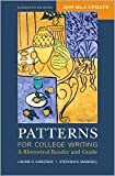 img - for Patterns for College Writing with 2009 MLA Update 11th (eleventh) edition Text Only book / textbook / text book