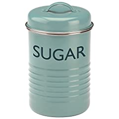 Typhoon® Summer House Blue Sugar Canister 1.3-Quart Capacity