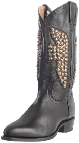 Frye Women's Billy Hammered Boots Black black 4.5 (37.5 EU)